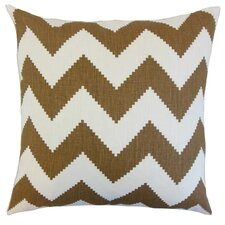 Maillol Zigzag Throw Pillow