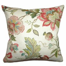 Adele Crewels Cotton Pillow