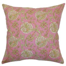 <strong>The Pillow Collection</strong> Danica Floral Cotton Pillow