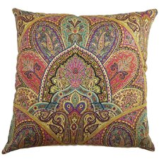 La Ceiba Paisley Cotton Pillow