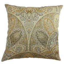 <strong>The Pillow Collection</strong> La Ceiba Paisley Cotton Pillow