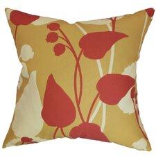 Gardenia Floral Polyester Pillow