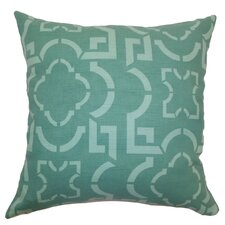 <strong>The Pillow Collection</strong> Ilima Tile Cotton Pillow