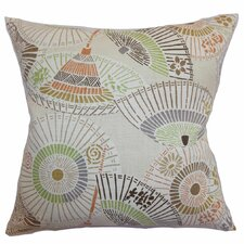 <strong>The Pillow Collection</strong> Valkeala Geometric Linen Pillow