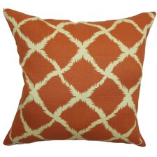 <strong>The Pillow Collection</strong> Cyrilla Chain Cotton Pillow
