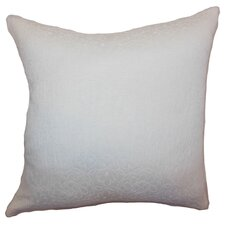 <strong>The Pillow Collection</strong> Paris Crewel Cotton Pillow