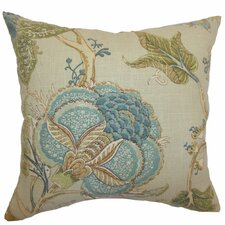<strong>The Pillow Collection</strong> Ymanya Floral Linen Pillow