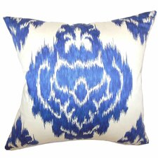 Icerish Ikat Cotton Pillow