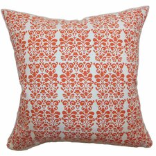 <strong>The Pillow Collection</strong> Silvia Floral Cotton Pillow