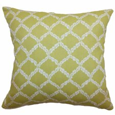 Quelah Floral Cotton Pillow