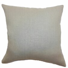 Urania Plain Linen Pillow