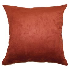 <strong>The Pillow Collection</strong> Fabrizia Plain Suede Pillow