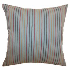 <strong>The Pillow Collection</strong> Lesly Stripes Cotton Pillow
