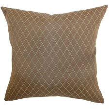 <strong>The Pillow Collection</strong> Yaana Diamond Cotton / Polyester Pillow