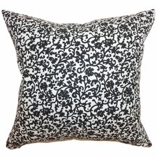 Vappi Floral Cotton Pillow