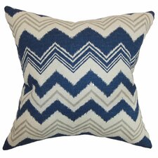 <strong>The Pillow Collection</strong> Quirindi Zigzag Cotton Pillow