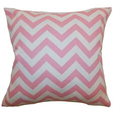 Xayabury Zigzag Cotton Pillow