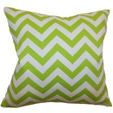 Xayabury Zigzag Cotton Pillow