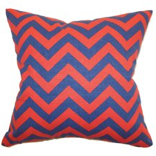 <strong>The Pillow Collection</strong> Xayabury Zigzag Cotton Pillow
