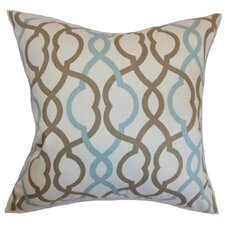 Adiyaman Pillow in Aqua & Cocoa