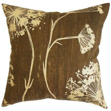 <strong>The Pillow Collection</strong> Garuahi Floral Cotton Pillow