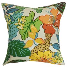 <strong>The Pillow Collection</strong> Tahsis Floral Pillow
