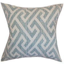 Naxoli Greek Key Pillow