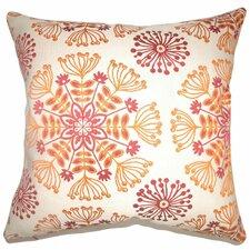 Jamesie Floral Cotton Pillow