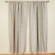 Mist Rod Pocket Curtain Single Panel