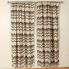 Zazzle Nina Birch Rod Pocket Curtain