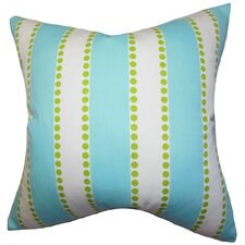 <strong>The Pillow Collection</strong> Odienne Stripes Cotton Pillow