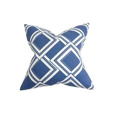 Jersey Geometric Pillow