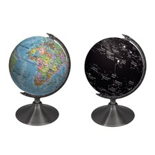 Earth and Constellations Globe