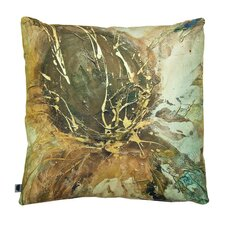 Autumn Lotus Printed Cushion