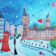 Big Ben by Susie Grindey Wall Art