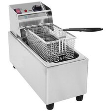 "12"" 7.6 Liter Electric Deep Fryer"