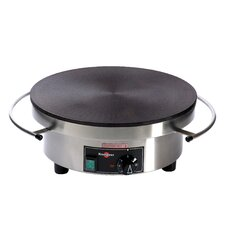 <strong>Eurodib</strong> 220V Electric Cast Iron Crepe Griddle