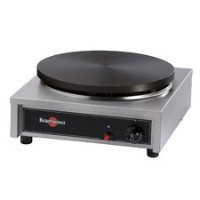 Gas Cast Iron Crepe Griddle with Base