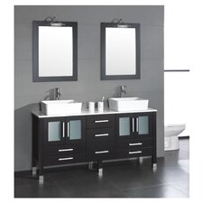 "Grand Aspen 71"" Bathroom Vanity Set"