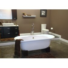 "70"" x 30"" Pedestal Bathtub"