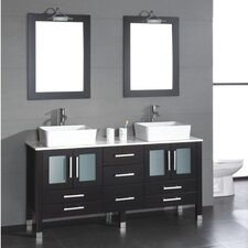 "Grand Aspen 71"" Bathroom Vanity Set"
