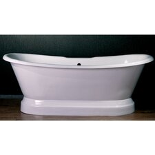 "71"" x 30"" Dual Slipper Tub"