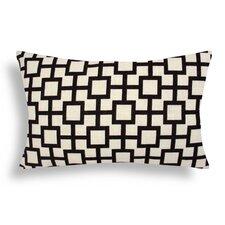 Lattice Cotton Lumbar Pillow