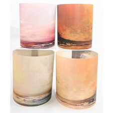 Seascapes 4 Tealight Holder 4 Piece Set