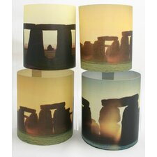 Stonehenge Tealight Holder 4 Piece Set