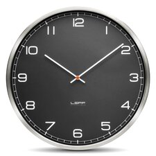 "One45 17.7"" Glass Wall Clock"