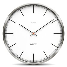 "<strong>Leff Amsterdam</strong> One25 9.8"" Wall Clock"