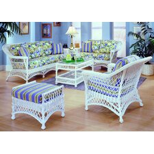 <strong>Spice Islands Wicker</strong> Bar Harbor Living Room Collection