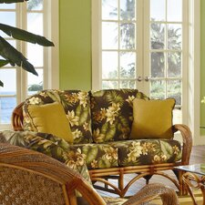 <strong>Spice Islands Wicker</strong> Caneel Bay Loveseat