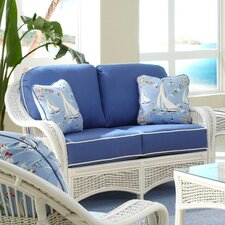 <strong>Spice Islands Wicker</strong> Regatta Loveseat